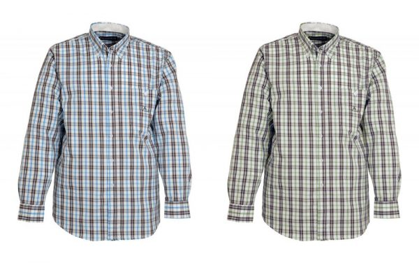Traditional Cotton Checked Country Shirt